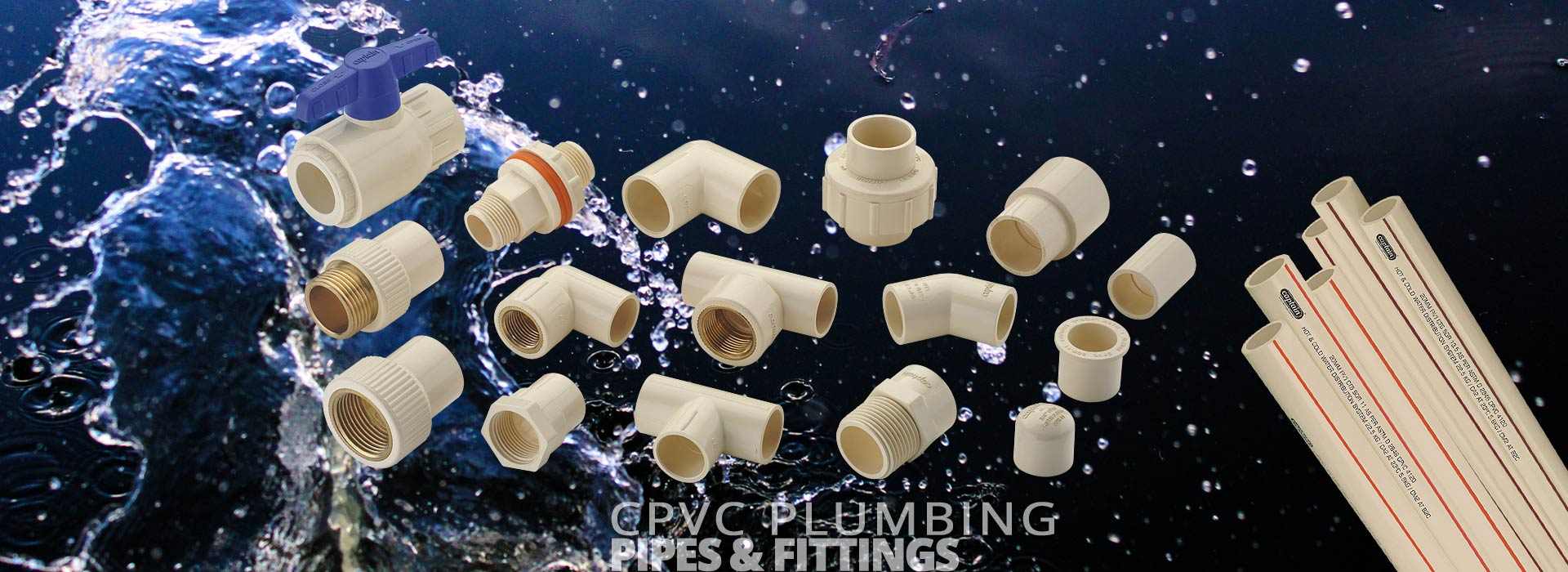 CPVC Plumbing Pipes and Fittings from Captain Pipes Ltd.