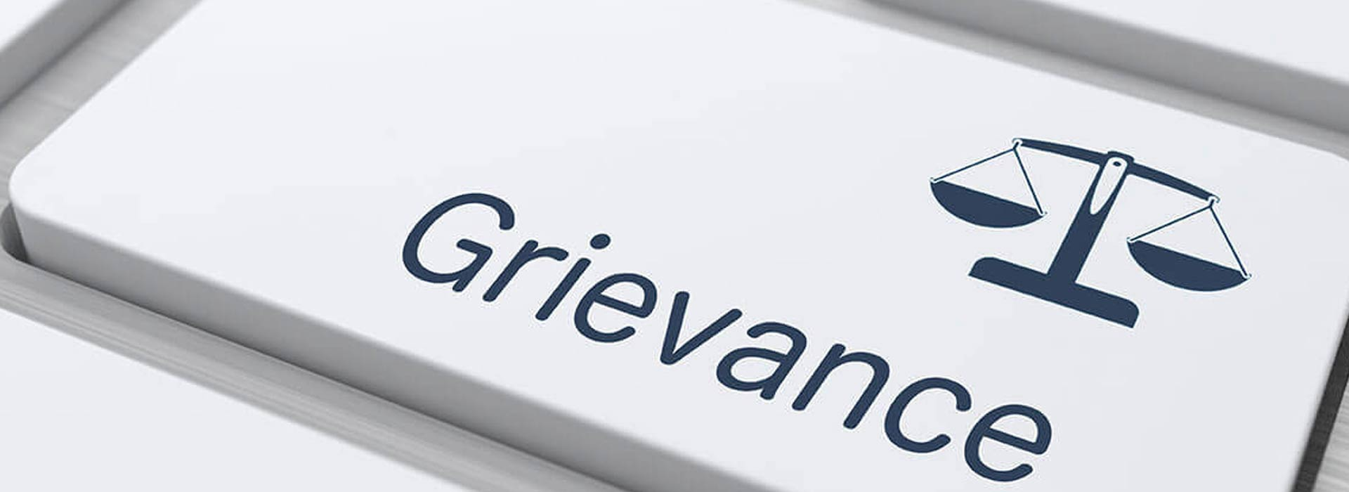 Grievance Cell | Captain Pipes Ltd.