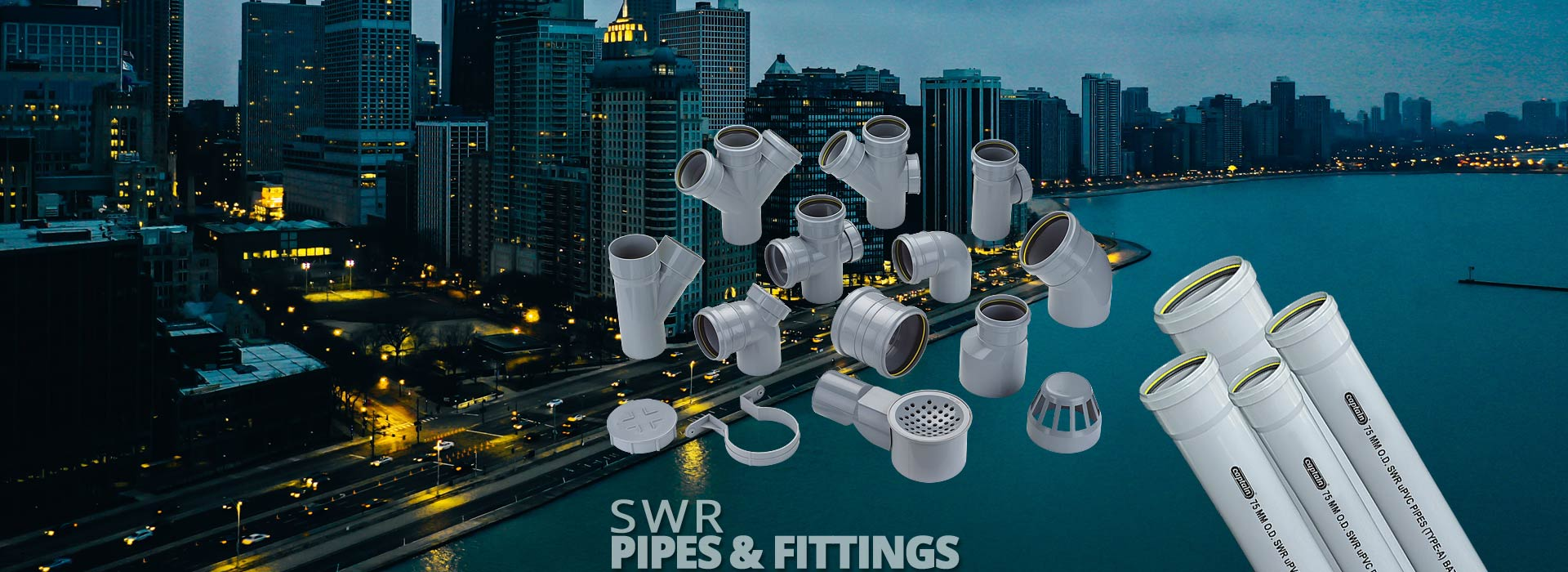 SWR Pipes & Fittings from Captain Pipes Ltd.