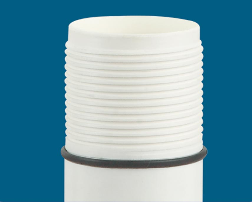 Captain uPVC Column Pipes - Square Threads
