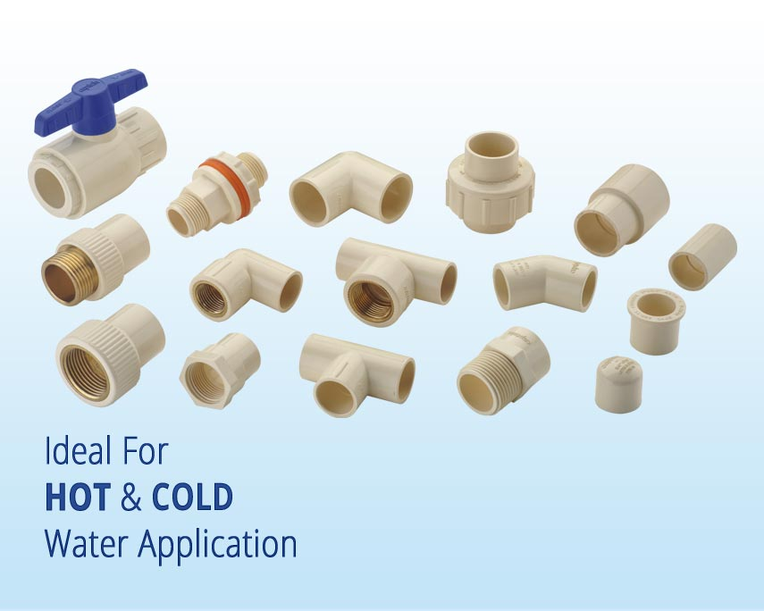 cPVC Plumbing Pipes and Fittings