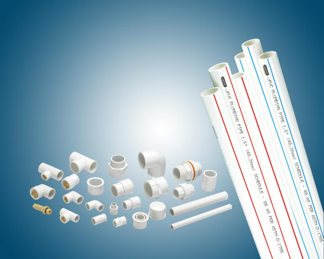 /uPVC Plumbing Pipes and Fittings
