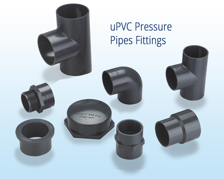 uPVC Pressure Pipes Fittings